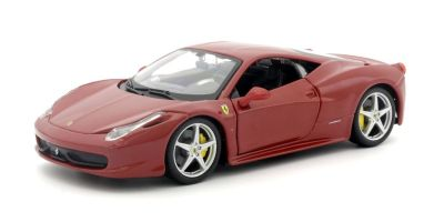 Bburago 1/24scale フェラーリ 458 イタリア Red [No.18-26003R]