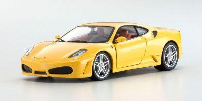 Bburago 1/24scale F430 (Yellow) Race & Play Series  [No.18-26008Y]