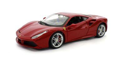 Bburago 1/24scale Ferrari 488GTB Red  [No.18-26013R]