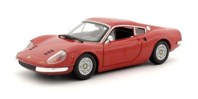 Bburago 1/24scale DINO 246 GT (Red) Lace & Play Series  [No.18-26015R]