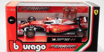 Bburago 1/43scale Ferrari F1 2016 Sebastian Vettel  [No.18-36803-5]