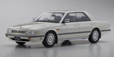 SAMURAI 1/18scale Nissan Cedric Cima Yellowish White Peal  [No.KSR18026W]