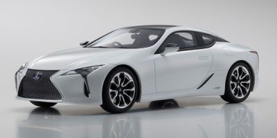 SAMURAI 1/18scale Lexus LC 500h White Nova Glass Flake  [No.KSR18024W]