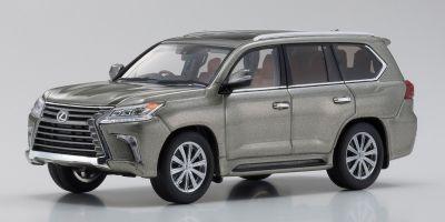 KYOSHO ORIGINAL 1/43scale Lexus LX570 Sonic Titanium  [No.KS03674T]