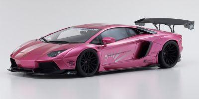 KYOSHO ORIGINAL 1/18scale LB☆WORKS Aventador Pink  [No.KSR18502CP]