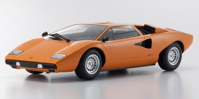 OUSIA 1/18scale Lamborghini Countach LP400 Orange  [No.KSC09531P]