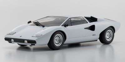 OUSIA 1/18scale Lamborghini Countach LP400 white  [No.KSC09531W]
