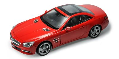 WELLY 1/18scale Mercedes-Benz SL500 hardtop (Red)  [No.WE18046HR]
