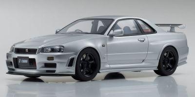 SAMURAI 1/12scale NISMO R34 GT-R Z-tune (Z-tune Silver)  [No.KSR12005S]