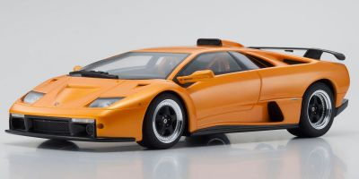 KYOSHO ORIGINAL 1/18scale Lamborghini Diablo GT (Orange Pearl)  [No.KSR18507OR]