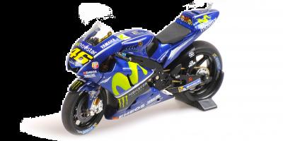 "MINICHAMPS 1/18scale Yamaha YZR-M1 ""MOVISTAR YAMAHA"" Valentino Rossi MotoGP 2017  [No.182173046]"