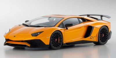 OUSIA 1/18scale Lamborghini Aventador SV (Orange)  [No.KSC09521P]