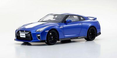 SAMURAI 1/18scale Nissan GT-R 50th Anniversary Blue  [No.KSR18044BL]