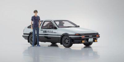 KYOSHO ORIGINAL 1/18scale Initial D Toyota Sprinter Trueno AE86  [No.KSR18D01]
