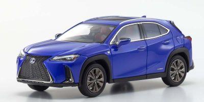 "KYOSHO ORIGINAL 1/43scale Lexus UX250H""F Sport""(Heat blue contrast layering)  [No.KS03696BL]"