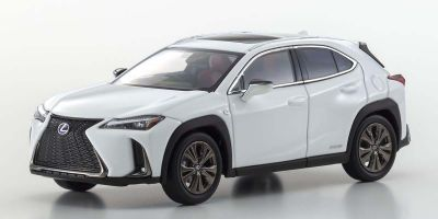 "KYOSHO ORIGINAL 1/43scale Lexus UX250H""F Sport""(White novaglass flakes)  [No.KS03696W]"