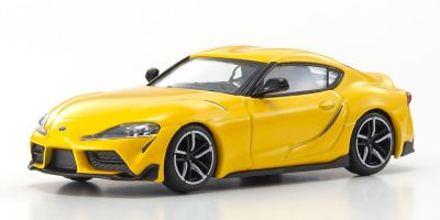KYOSHO ORIGINAL 1/64scale TOYOTA GR SUPRA (YELLOW)  [No.KS07110Y]
