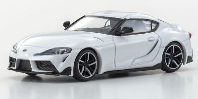 KYOSHO ORIGINAL 1/64scale TOYOTA GR SUPRA (WHITE)  [No.KS07110W]
