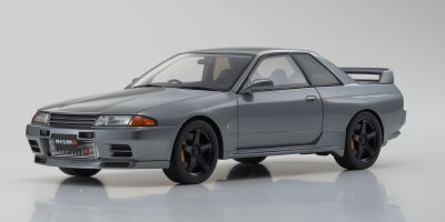 "SAMURAI 1/18scale Nissan Skyline GT-R (R32 NISMO ""Grand Touring Car"") (Gray) Limited 700  [No.KSR18047GR]"