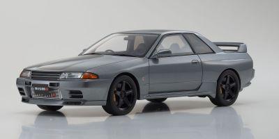 京商 サムライ 1/18 日産 スカイライン GT-R R32 NISMO グランドツーリングカー 限定 700個 グレー KSR18047GR