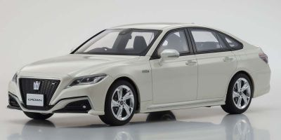 SAMURAI 1/18scale Toyota Crown 3.5 RS Advance (White) Limited to 700 units  [No.KSR18042W]