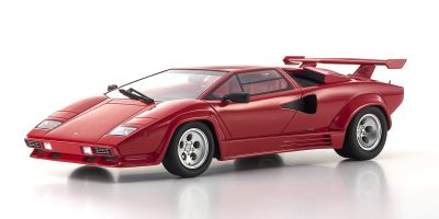 KYOSHO 1/18scale Lamborghini Countach 5000 Quattrovalvole Red  [No.KSR18504R]