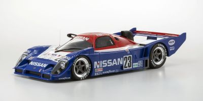 KYOSHO ORIGINAL 1/12scale Nissan R91CP # 23 (Blue / White / Red)  [No.KSR08666A]