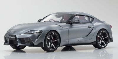 SAMURAI 1/18scale Toyota GR Supra (Matte Gray) Limited to 700  [No.KSR18045MG]