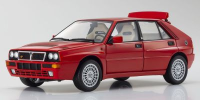 KYOSHO ORIGINAL 1/18scale Lancia Delta Integrale Evolzione II Red  [No.KS08343R]