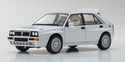 KYOSHO ORIGINAL 1/18scale Lancia Delta Integrale Evolzione II White  [No.KS08343W]