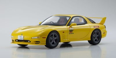 KYOSHO ORIGINAL 1/18scale Initial D Mazda RX-7 FD3S Yellow  [No.KSR18D02]