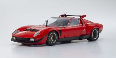 KYOSHO ORIGINAL 1/18scale Lamborghini Miura SVR (Red / Black)  [No.KS08319R]