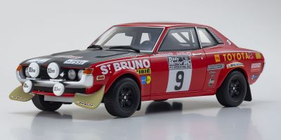 OttO mobile 1/18scale Toyota Celica 1600GT TA22 RAC 1973 (Red / Black)  [No.OTM274]