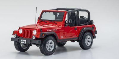 MAISTO 1/18scale Jeep Wrangler Rubicon (Red)  [No.MS31663R]