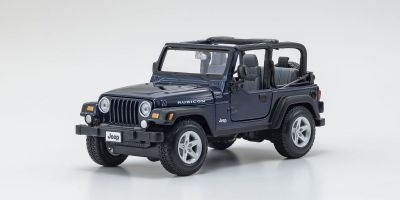 MAISTO 1/27scale Jeep Wrangler Rubicon MT Blue  [No.MS31245MB]