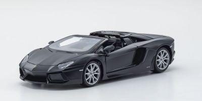 MAISTO 1/24scale Lamborghini Aventador Roadster Dal Black  [No.MS31504DBK]
