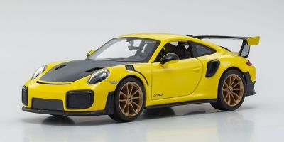MAISTO 1/24scale Porsche 911 GT2 RS Yellow / Black  [No.MS31523Y]