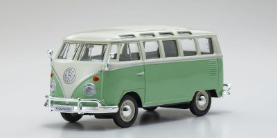 "MAISTO 1/25scale Volkswagen Van ""Samba"" Cream / Green  [No.MS31956CG]"