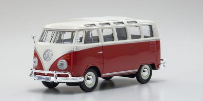 "MAISTO 1/25scale Volkswagen Van ""Samba"" White / Red  [No.MS31956WR]"