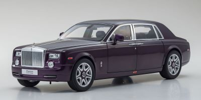 KYOSHO ORIGINAL 1/18scale Rolls-Royce Phantom EWB (Twilight Purple)  [No.KS08841TP]