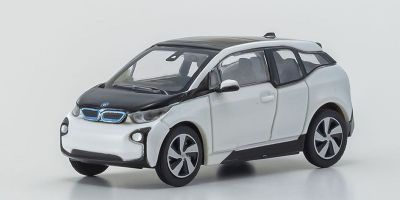 MINICHAMPS 1/87scale BMW I3-2014-White  [No.870028104]