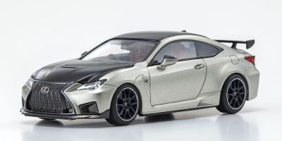 KYOSHO ORIGINAL 1/43scale Lexus RC F Performance Package (Sonic Titanium) (Right Handle)  [No.KS03698T]