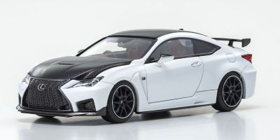 KYOSHO ORIGINAL 1/43scale Lexus RC F Performance Package (White Nova Glass Flake) (Right Handle)  [No.KS03698W]