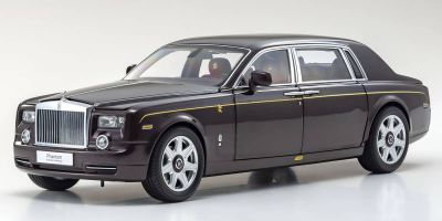 KYOSHO ORIGINAL 1/18scale Rolls-Royce Phantom EWB (Deep Garnet)  [No.KS08841DE]