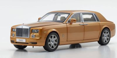 KYOSHO ORIGINAL 1/18scale Rolls-Royce Phantom EWB (Arizona Sun)  [No.KS08841ASG]