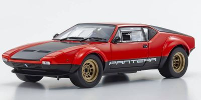 KYOSHO ORIGINAL 1/18scale De Tomaso Pantera GT4 (Red/Black)  [No.KS08853R]