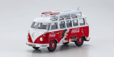 OXFORD 1/76scale VW T1 Bus Coca-Cola with Surf Boat  [No.OX76VWS08CC]