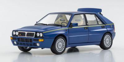 "KYOSHO ORIGINAL 1/18scale Lancia Delta HF Integrale Evo.II ""Blue Lagos"" (Blue Metallic)  [No.KS08343BL]"