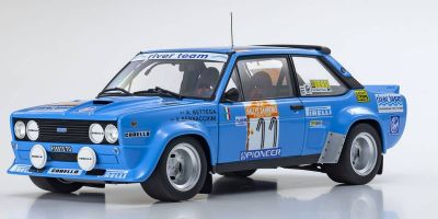 KYOSHO ORIGINAL 1/18scale Fiat 131 Abarth Rally 1980 San Remo # 11  [No.KS08376C]
