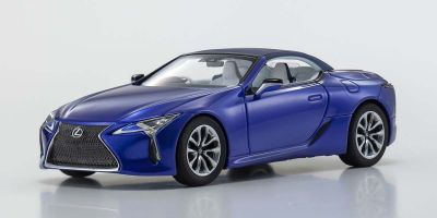 KYOSHO ORIGINAL 1/43scale Lexus LC500 Convertible (Structural Blue)  [No.KS03902BL]